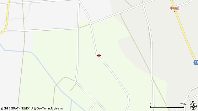 山形県上山市細谷159周辺の地図