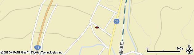 山形県上山市中山2723周辺の地図
