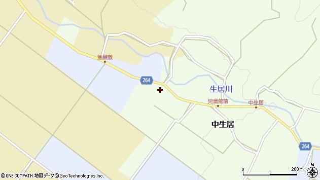 山形県上山市下生居245周辺の地図