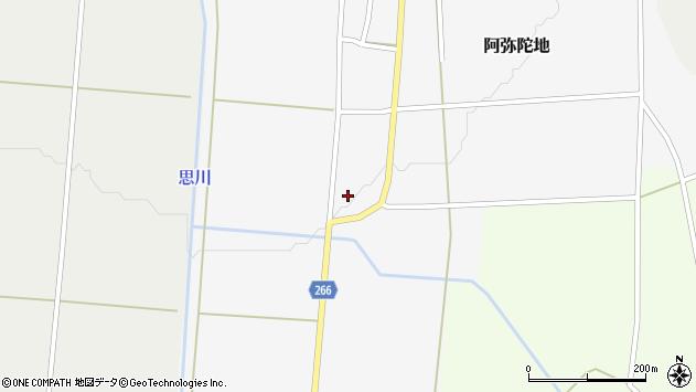 山形県上山市阿弥陀地24周辺の地図