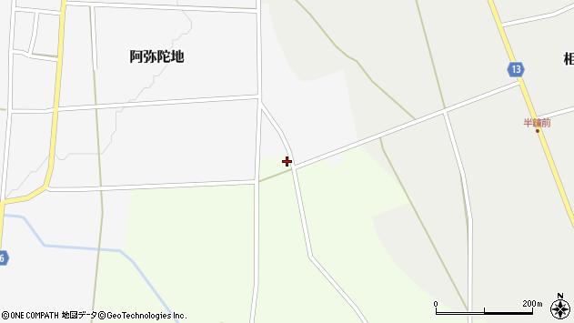 山形県上山市細谷1380周辺の地図