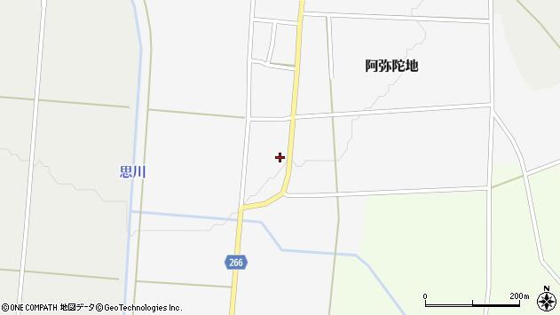 山形県上山市阿弥陀地29周辺の地図