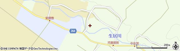山形県上山市下生居11周辺の地図