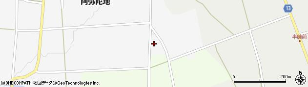 山形県上山市阿弥陀地903周辺の地図