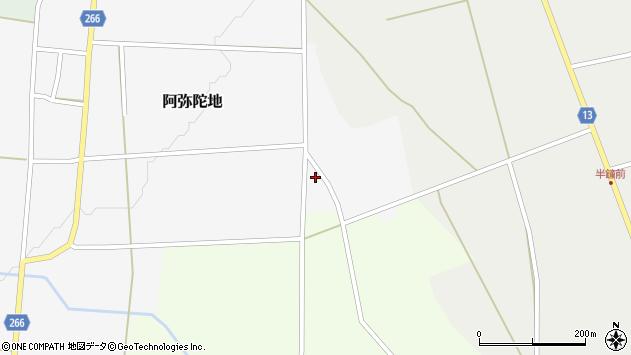 山形県上山市阿弥陀地中畑903周辺の地図