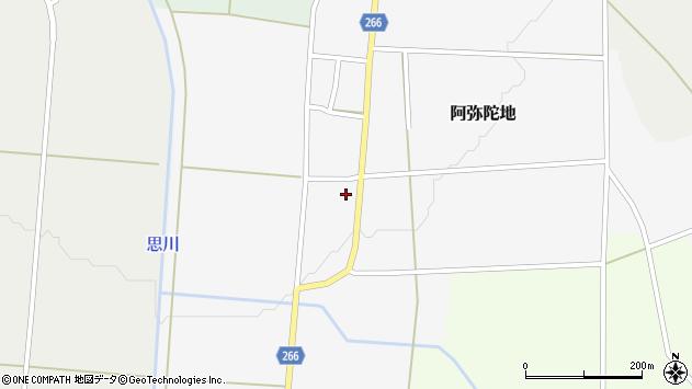 山形県上山市阿弥陀地31周辺の地図