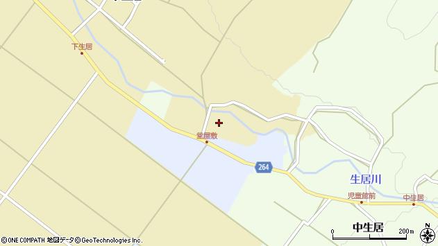 山形県上山市下生居219周辺の地図