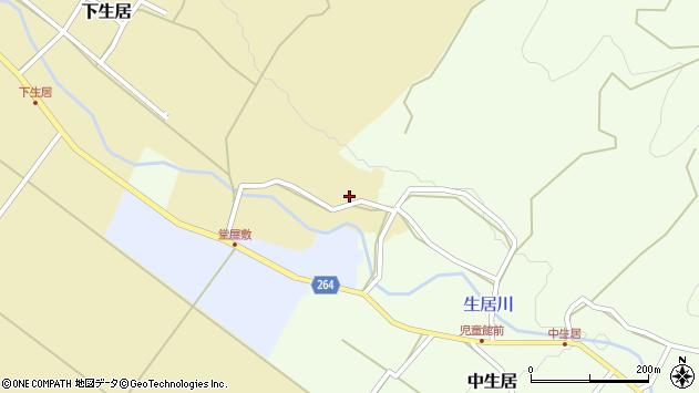 山形県上山市下生居26周辺の地図