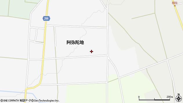 山形県上山市阿弥陀地644周辺の地図