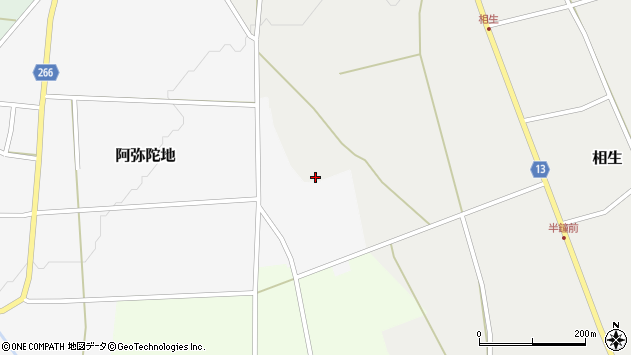 山形県上山市相生856周辺の地図