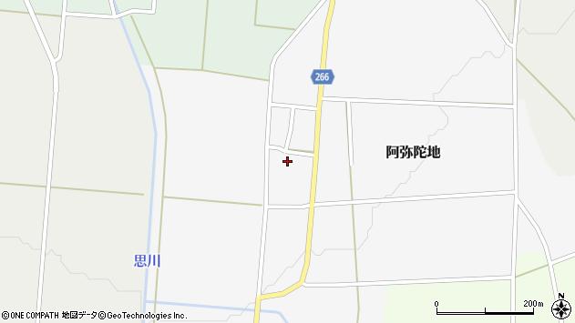山形県上山市阿弥陀地39周辺の地図