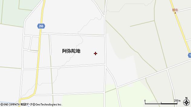山形県上山市阿弥陀地1023周辺の地図