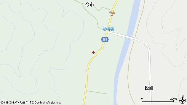 山形県西置賜郡小国町今市283周辺の地図