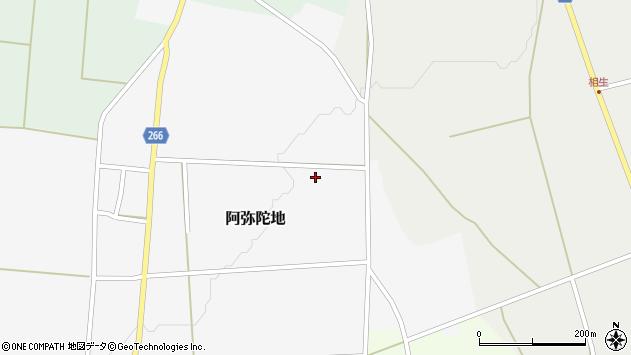 山形県上山市阿弥陀地中畑490周辺の地図