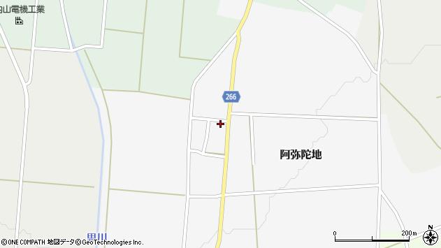 山形県上山市阿弥陀地1065周辺の地図