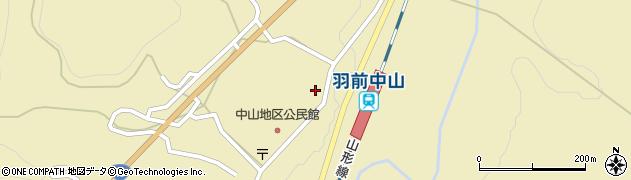 山形県上山市中山上町3777周辺の地図