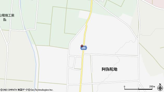 山形県上山市阿弥陀地55周辺の地図