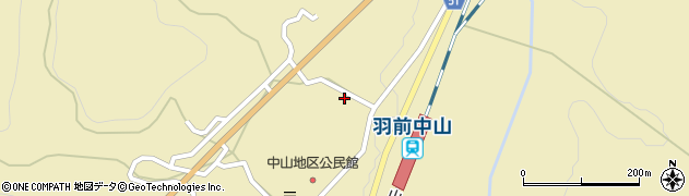 山形県上山市中山3186周辺の地図