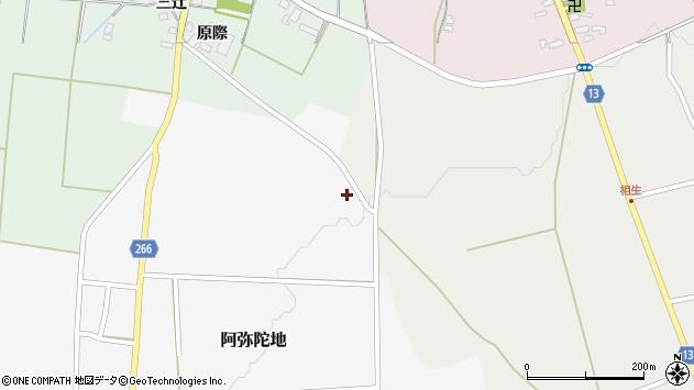 山形県上山市阿弥陀地728周辺の地図