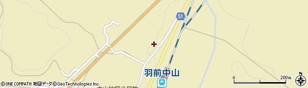 山形県上山市中山3544周辺の地図
