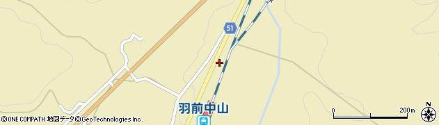 山形県上山市中山3575周辺の地図