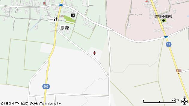 山形県上山市阿弥陀地727周辺の地図