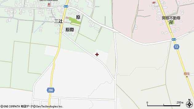 山形県上山市阿弥陀地718周辺の地図