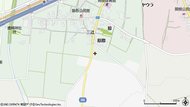 山形県上山市藤吾原2091周辺の地図
