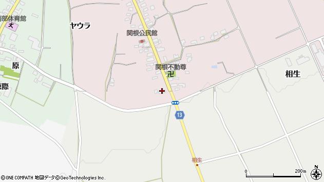 山形県上山市関根1周辺の地図