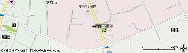 山形県上山市関根5周辺の地図