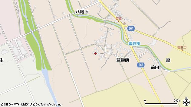 山形県上山市宮脇1056周辺の地図
