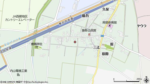 山形県上山市藤吾28周辺の地図