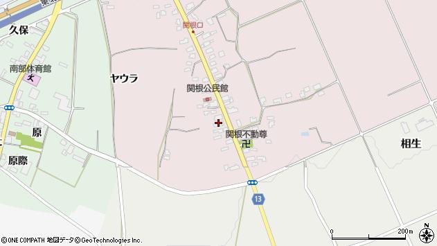 山形県上山市関根7周辺の地図