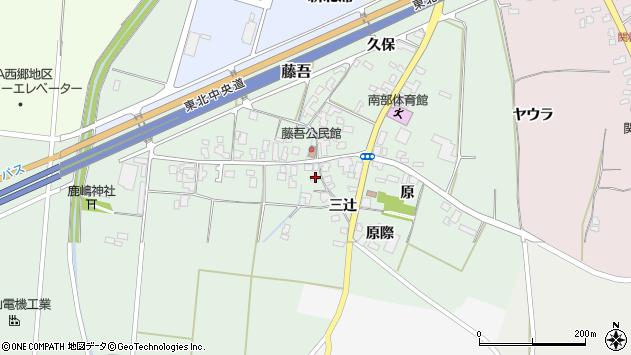 山形県上山市藤吾20周辺の地図