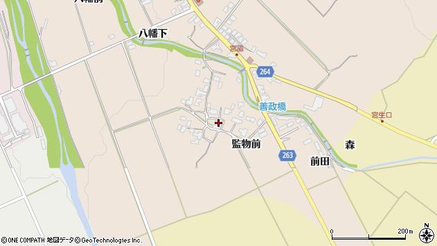 山形県上山市宮脇1029周辺の地図