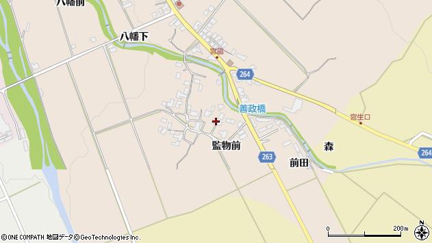 山形県上山市宮脇1022周辺の地図