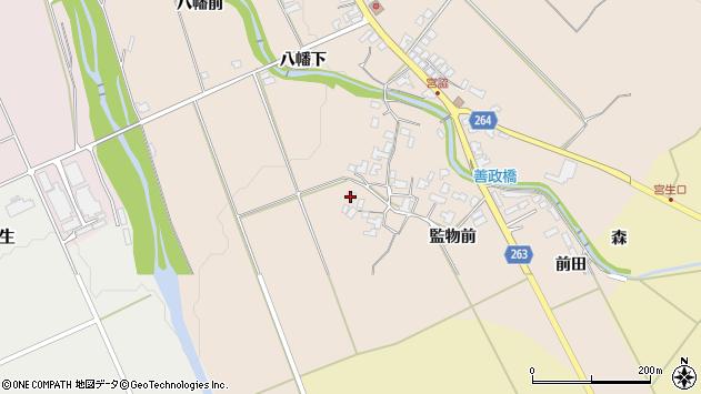 山形県上山市宮脇1059周辺の地図