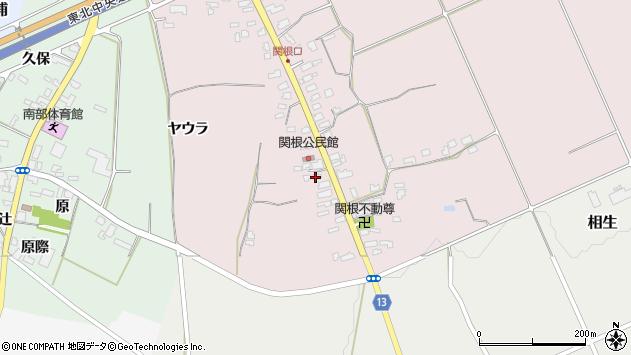 山形県上山市関根9周辺の地図
