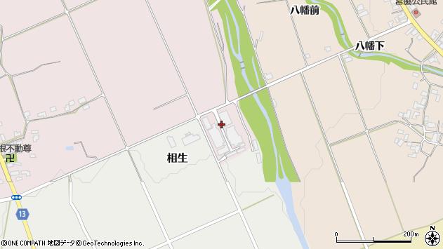 山形県上山市関根三島周辺の地図