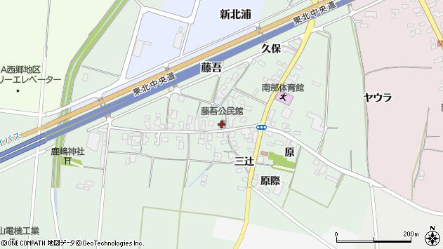 山形県上山市藤吾10周辺の地図