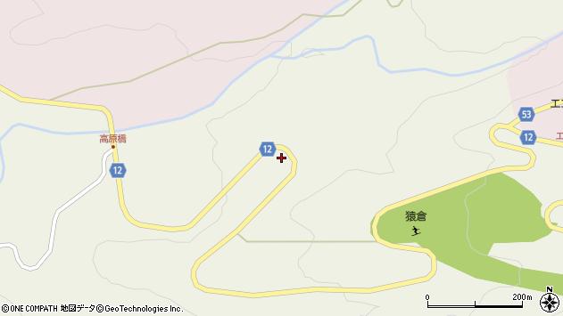 山形県上山市蔵王2173周辺の地図