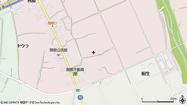 山形県上山市関根97周辺の地図