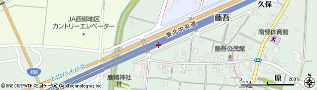 山形県上山市藤吾北浦44周辺の地図