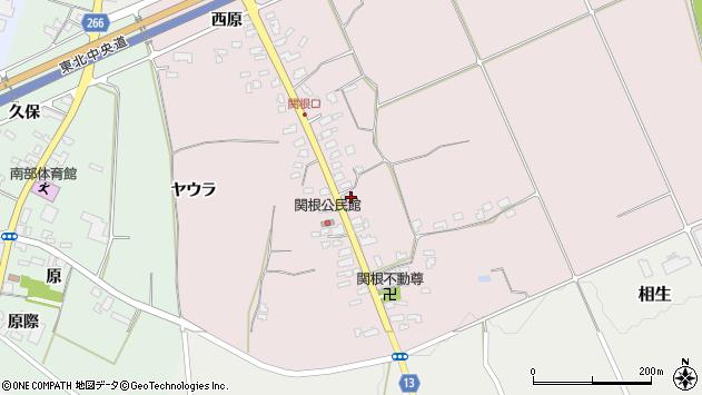 山形県上山市関根37周辺の地図