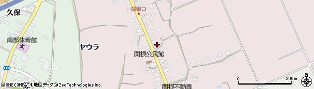 山形県上山市関根36周辺の地図