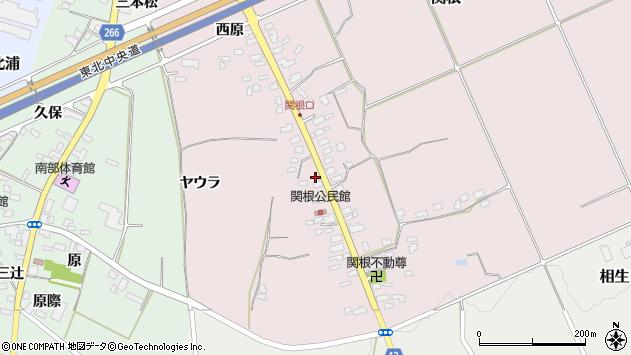 山形県上山市関根14周辺の地図
