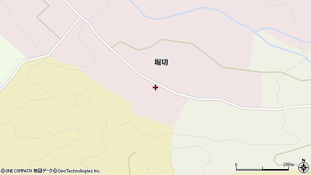 山形県上山市永野堀切1169周辺の地図