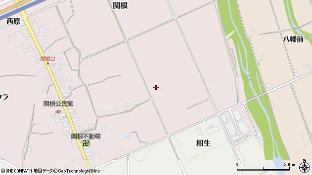 山形県上山市関根中通1129周辺の地図