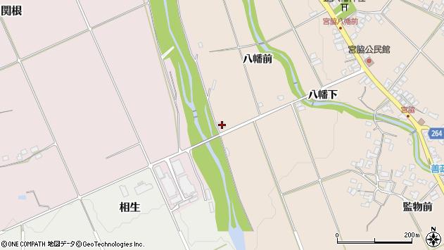 山形県上山市宮脇1165周辺の地図