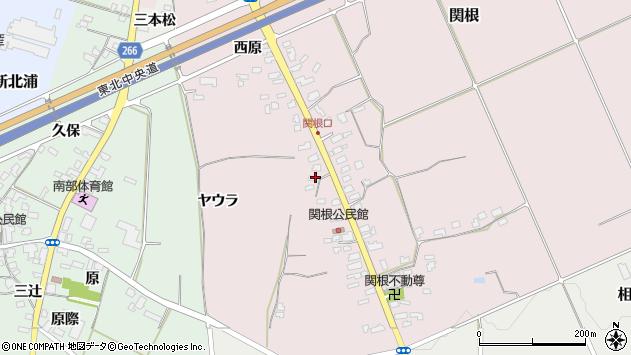 山形県上山市関根780周辺の地図
